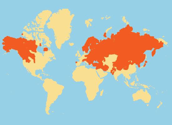 Black bear habitat map - photo#7